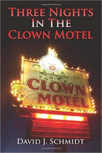 book cover clown motel
